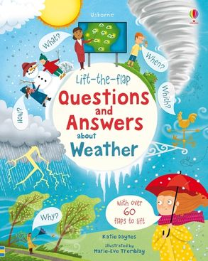 Cover image - Lift-the-Flap Questions and Answers About Weather