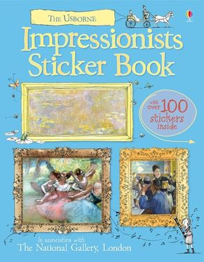 Cover image - Impressionists Sticker Book