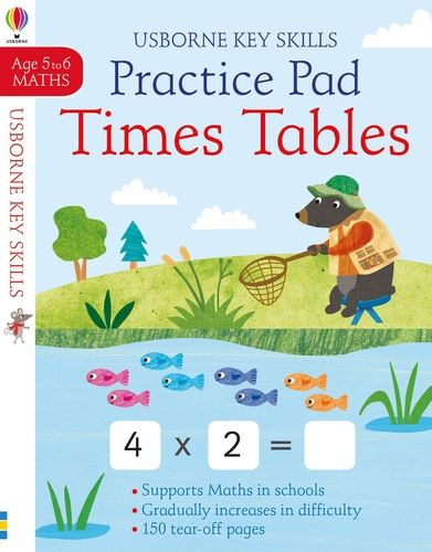 Practice Pad Times Tables 5-6