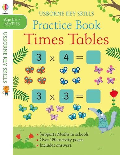 Practice Book Times Tables 6-7