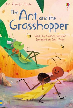 Cover image - The Ant and the Grasshopper