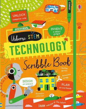 Picture of Technology Scribble Book