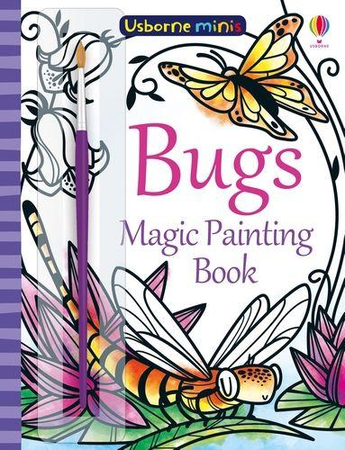 Mini Books Magic Painting Bugs