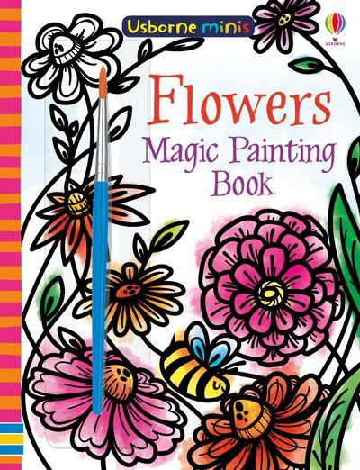 Mini Books Magic Painting Flowers