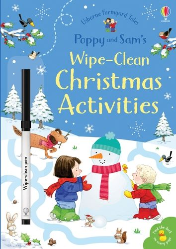 Farmyard Tales Poppy and Sam's Wipe-Clean Christmas Activities