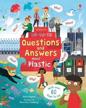 Cover image - Lift-the-Flap Questions and Answers About Plastic
