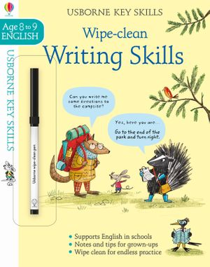 Picture of Wipe-Clean Writing Skills 8-9