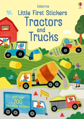 Cover image - Little First Stickers Tractors and Trucks