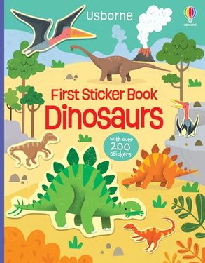 Cover image - First Sticker Book Dinosaurs