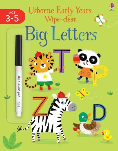 Early Years Wipe-Clean Big Letters