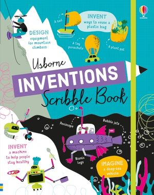 Picture of Inventions Scribble Book