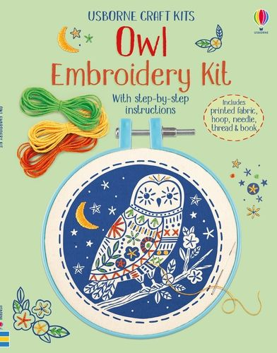 Embroidery Kit: Owl