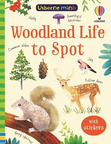 Mini Books Woodland Life to Spot