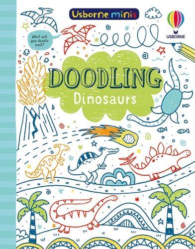 Mini Books Doodling Dinosaurs