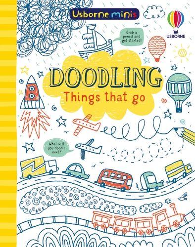 Mini Books Doodling Things That Go