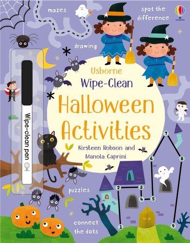 Wipe-Clean Halloween Activity