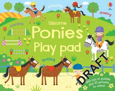 Ponies Play Pad