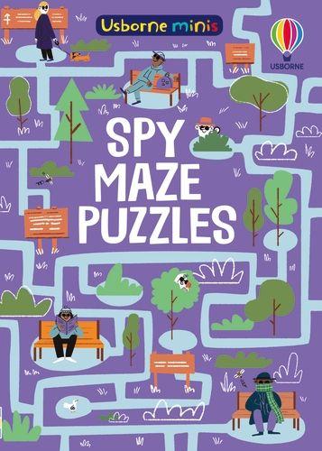 Mini Books Spy Mazes