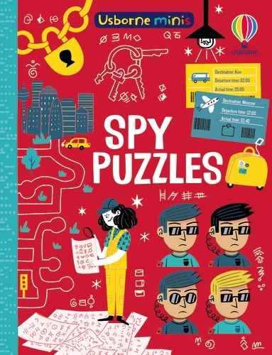 Mini Books Spy Puzzles