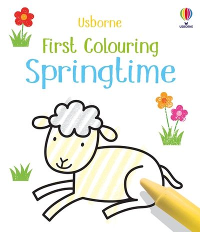 First Colouring Spring Time