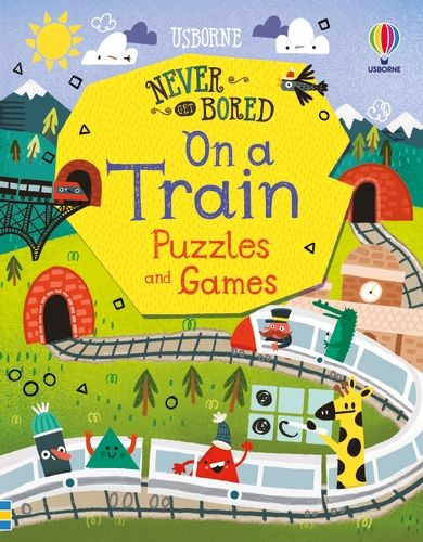 Never Get Bored on a Train Puzzles and Games