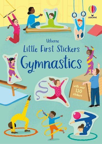 First Sticker Book Gymnastics