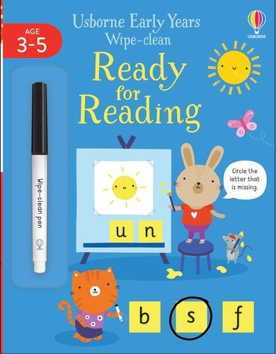 Early Years Wipe-Clean Ready for Reading