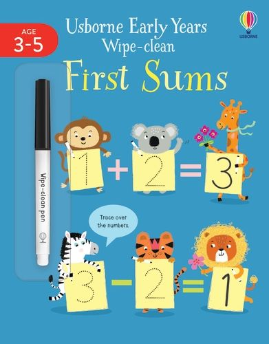 Early Years Wipe-Clean First Sums