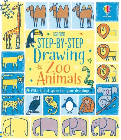 Step-by-Step Drawing Zoo Animals
