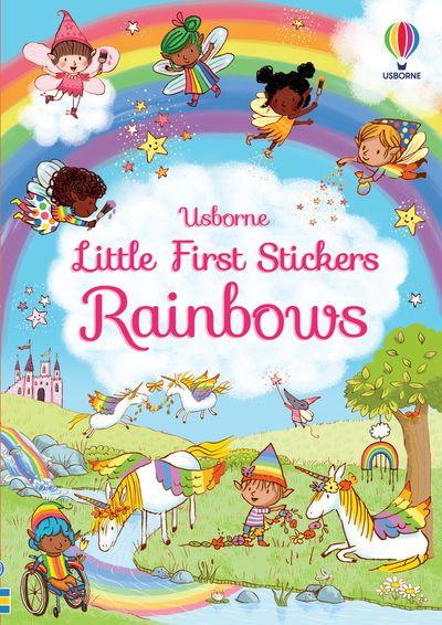 Little First Stickers Rainbows