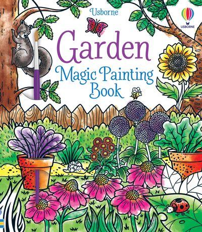 Garden Magic Painting Book