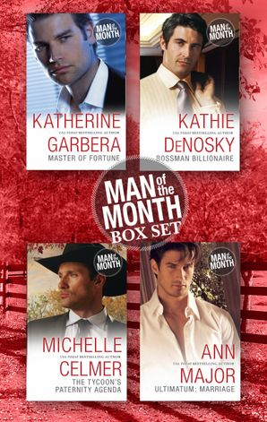 Man Of The Month Bundle - 4 Book Box Set