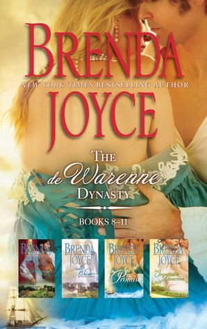 Brenda Joyce The De Warenne Dynasty Books 8-11 - 4 Book Box Set