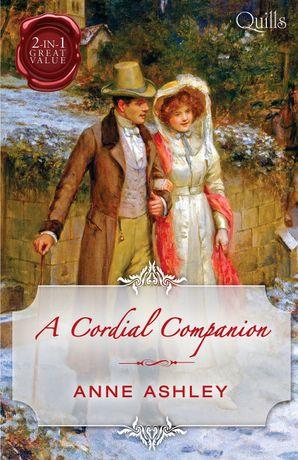 A Cordial Companion/Miss In A Man's World/An Ideal Companion