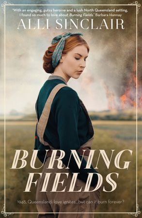 Cover image - Burning Fields