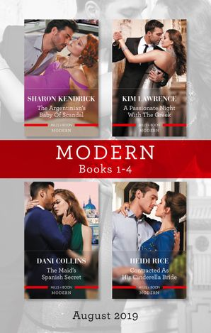 Modern Box Set 1-4/The Argentinian's Baby of Scandal/His Forbidden Pregnant Princess/The Maid's Spanish Secret/Contracted as His Cinderell