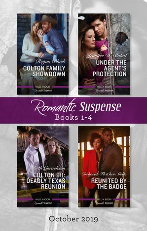 Romantic Suspense Box Set 1-4/Colton Family Showdown/Under the Agent's Protection/Colton 911