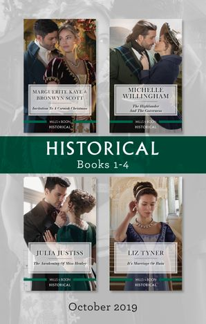 Historical Box Set 1-4/The Captain's Christmas Proposal/Unwrapping His Festive Temptation/The Highlander and the Governess/The Awakening of Mi