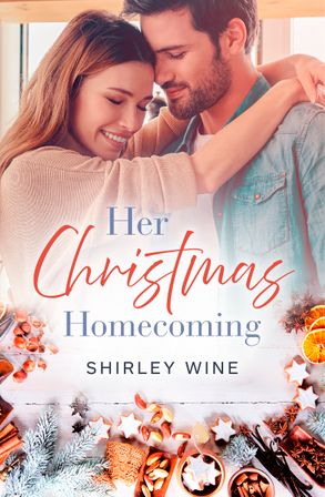 Cover image - Her Christmas Homecoming (Rainbow Cove Christmas, #3)