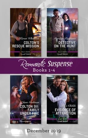 Romantic Suspense Box Set 1-4/Colton's Rescue Mission/Detective on the Hunt/Colton 911