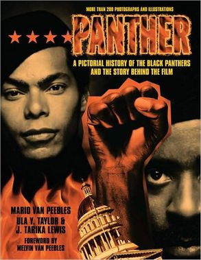 Cover image - Panther: The Pictorial History of the Black Panthers and the Story Behind the Film