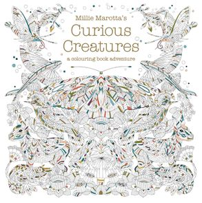 Cover image - Millie Marotta's Curious Creatures: A Colouring Book Adventure