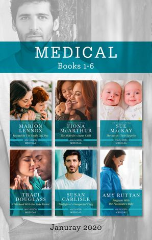 Medical Box Set 1-6 Jan 2020/Rescued by the Single Dad Doc/The Midwife's Secret Child/The Nurse's Twin Surprise/A Weekend with Her Fak