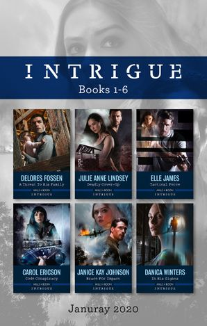 Intrigue Box Set 1-6 Jan 2020/A Threat to His Family/Deadly Cover-Up/Tactical Force/Code Conspiracy/Brace for Impact/In His Sights