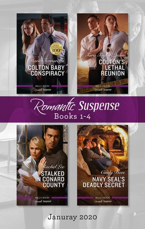 Romantic Suspense Box Set 1-4/Colton Baby Conspiracy/Colton's Lethal Reunion/Stalked in Conard County/Navy SEAL's Deadly Secret
