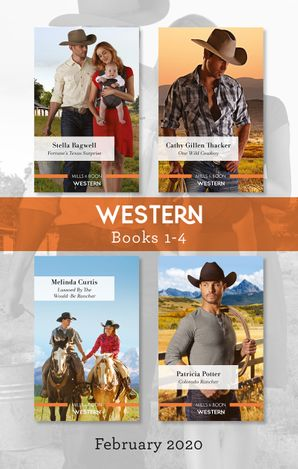 Western Box Set 1-4/Fortune's Texas Surprise/One Wild Cowboy/Lassoed by the Would-Be Rancher/Colorado Rancher