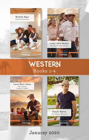 Western Box Set 1-4/Fortune's Fresh Start/The Texas Rancher's Family/The Colorado Cowboy's Triplets/The Cowboy's Dilemma