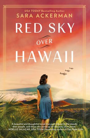 Cover image - Red Sky Over Hawaii