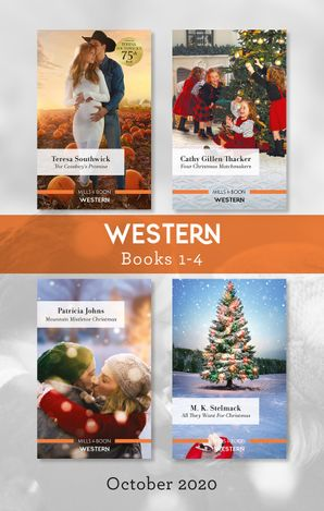 Western Box Set 1-4 Oct 2020/The Cowboy's Promise/Four Christmas Matchmakers/Mountain Mistletoe Christmas/All They Want for Christmas