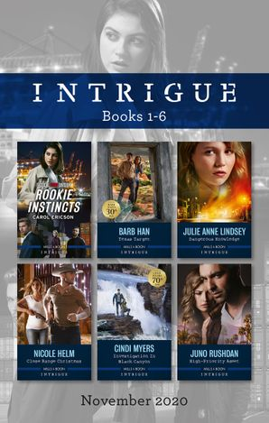 Intrigue Box Set 1-6 Nov 2020/Rookie Instincts/Texas Target/Dangerous Knowledge/Close Range Christmas/Investigation in Black Canyon/High-Prio
